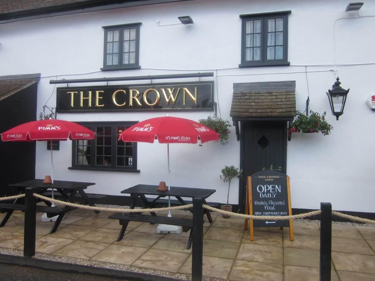 Crown Inn, Sandon