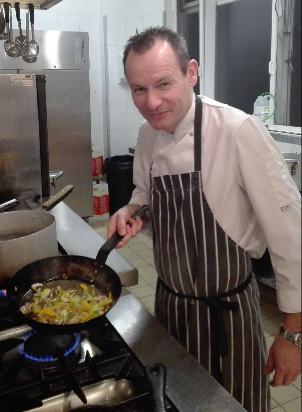 Through The Hotplate With Stephen Burrell