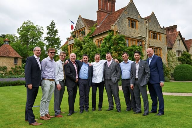Sodexo chefs rewarded by Raymond Blanc OBE