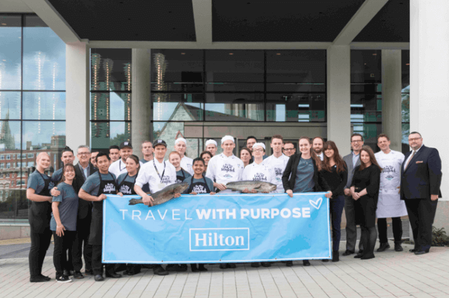 Hilton becomes largest UK hotel group to be MSC certified