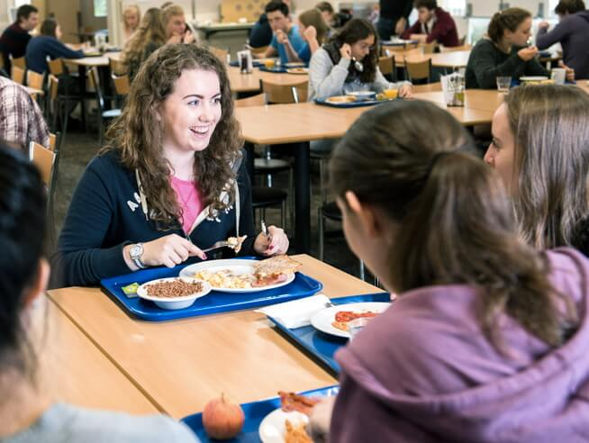 Exeter University granted SRA Two Star sustainable dining award