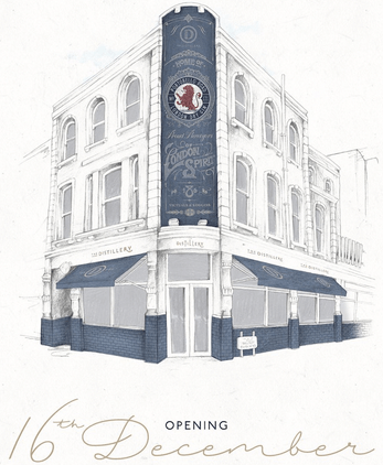 Four-storey gin palace & eatery opens next week on Portobello Road