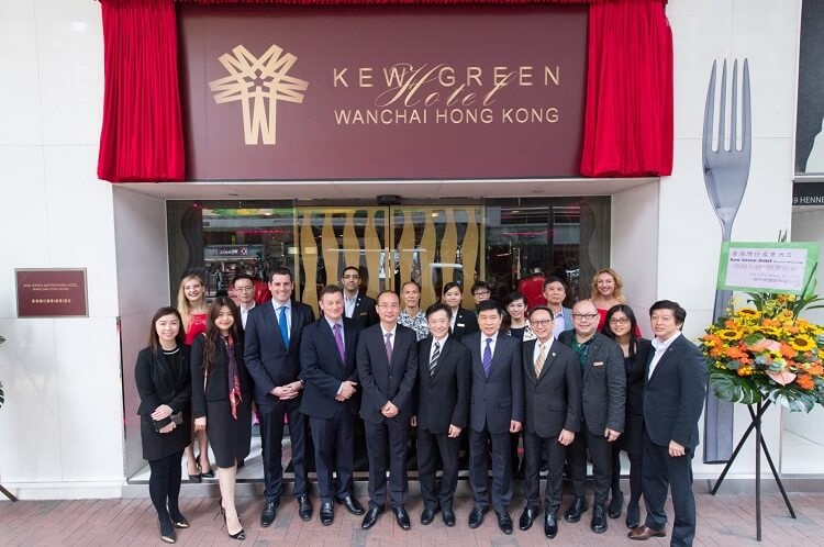 Kew Green celebrates one year of successful partnership with HK CTS