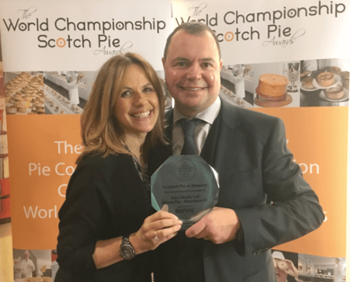 Sodexo football pies scoops awards at World Pie Championships