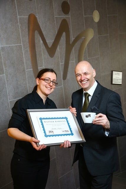 Mount Charles crowns barista of the year