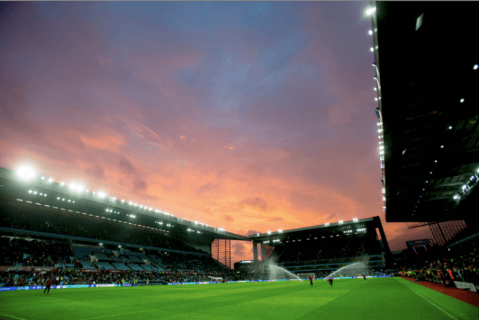 Levy Restaurants scores five year deal with Aston Villa FC