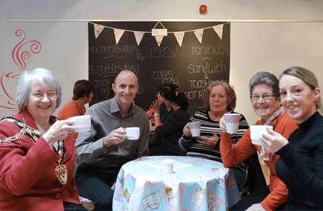 New cafe opens at Gwent adult education centre