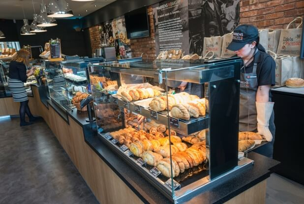 Warrens Bakery opens first site beyond West Country in Birmingham