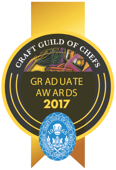 Craft Guild of Chefs Graduate Awards celebrates 15 years as 2017 entries open