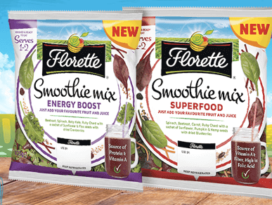 Florette launches Smoothie Mix range