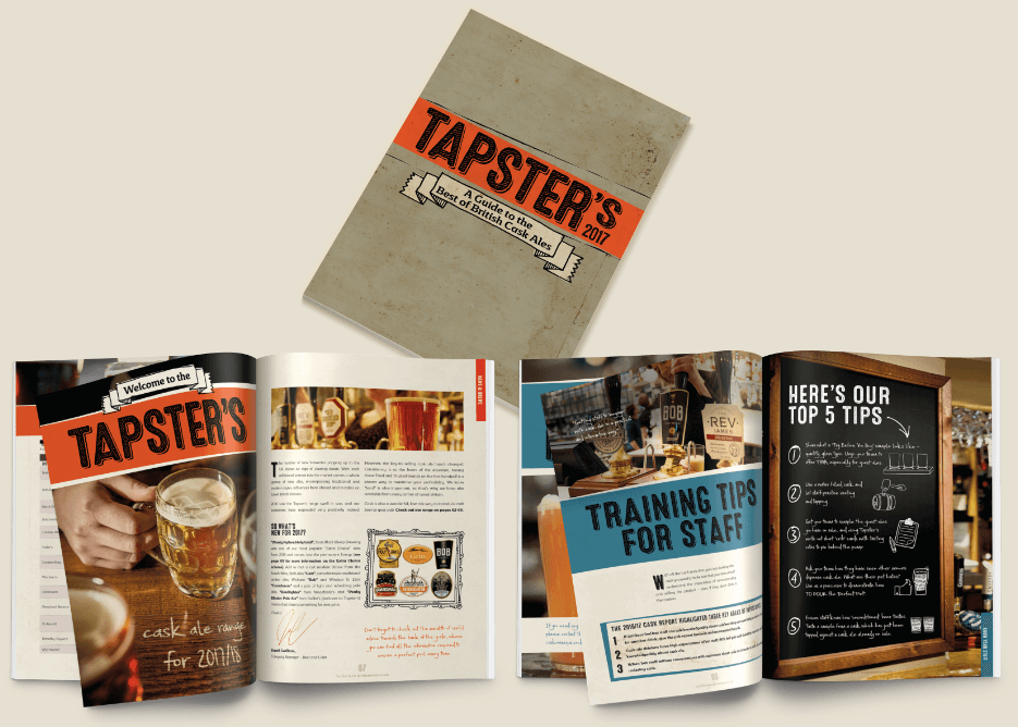 Carlsberg UK launches 2017 Tapster's cask ale guide