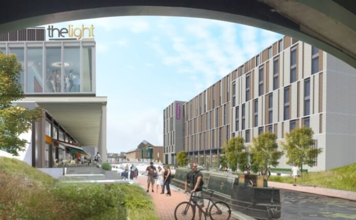 £50m waterfront dining & leisure scheme planned for Banbury