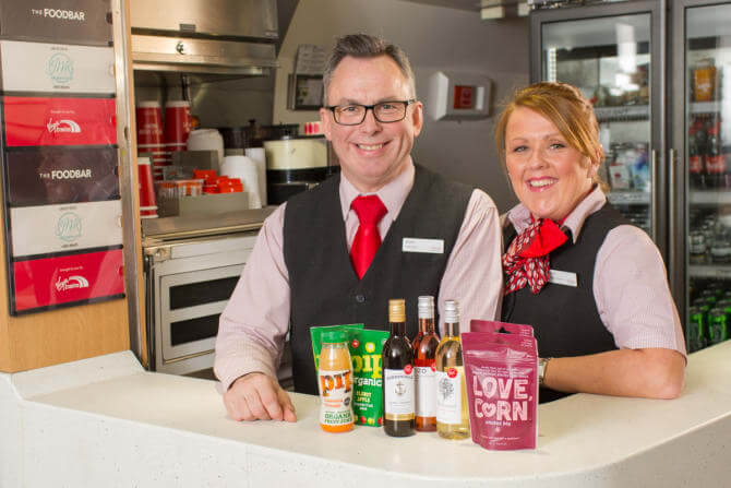 Virgin Trains revamps Foodbar with gluten-free, organic & vegan options