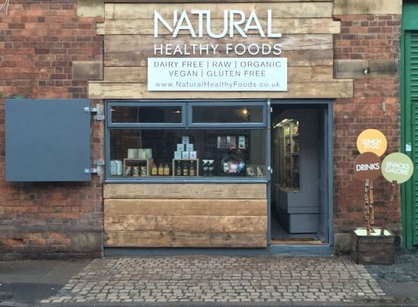 Natural Healthy Foods Eatery Birmingham Menu