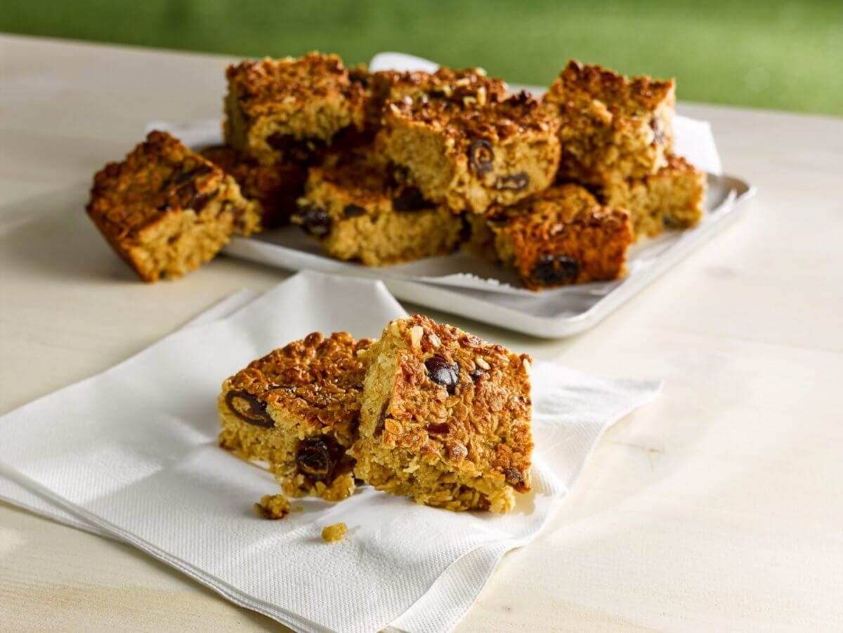 Date & Coconut Flapjack