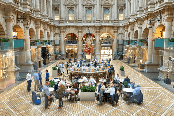 Royal Exchange introduces Cherry Blossom Afternoon Tea