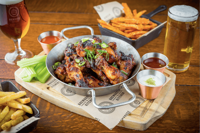 Brewhouse & Kitchen launches new menu of beer-inspired dishes