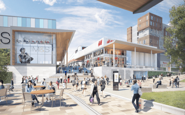Bill's & Patisserie Valerie sign up to new Bracknell shopping complex