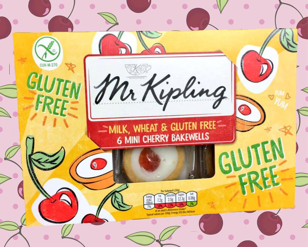 Mr Kipling launches new gluten-free cake range