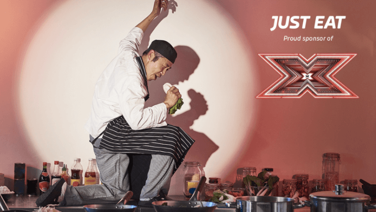 Just Eat to sponsor The X Factor & to launch Chef Factor