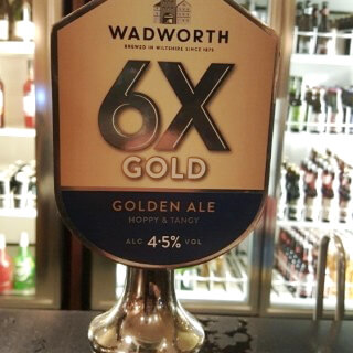Gluten-free 6X Gold becomes Wadworth flagship beer