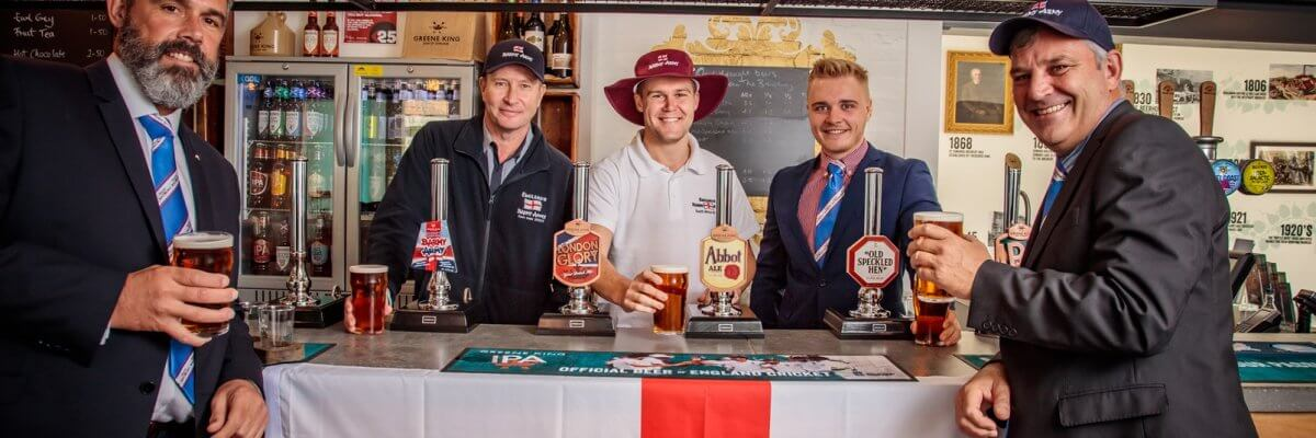 Greene King partners with Barmy Army & launches new beer