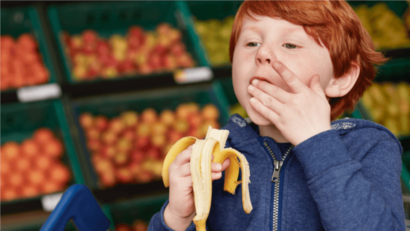 Kids go bananas for Tesco's Free Fruit initiative
