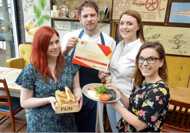 Kew pub wins Britain's Best Pub Breakfast award