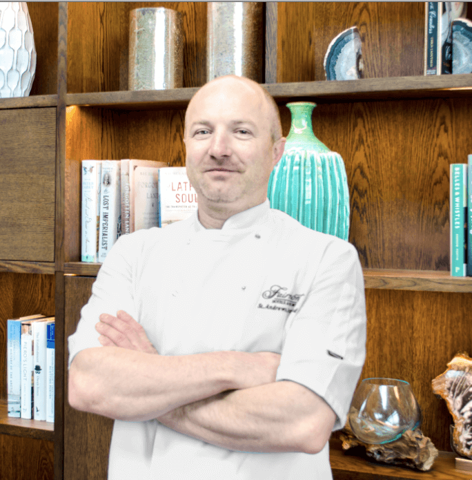 Former two Michelin-star chef welcomed at Fairmont St Andrews