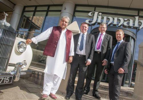 Jinnah Group  to open a £2.5m world food restaurant
