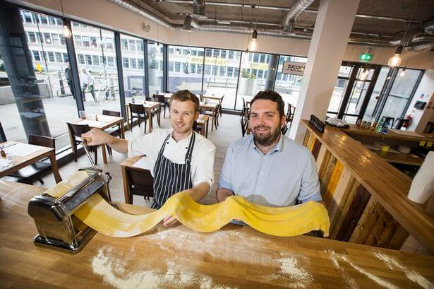 Pasta bar opens in Newcastle's 55 Degrees North complex