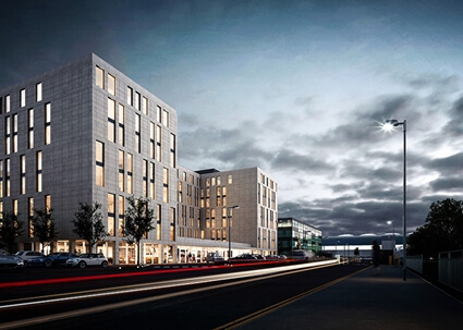 Largest European Hampton by Hilton to open at Stansted Airport in August