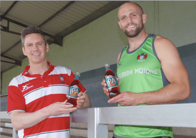 Greene King becomes Official Ale Partner of Gloucester Rugby