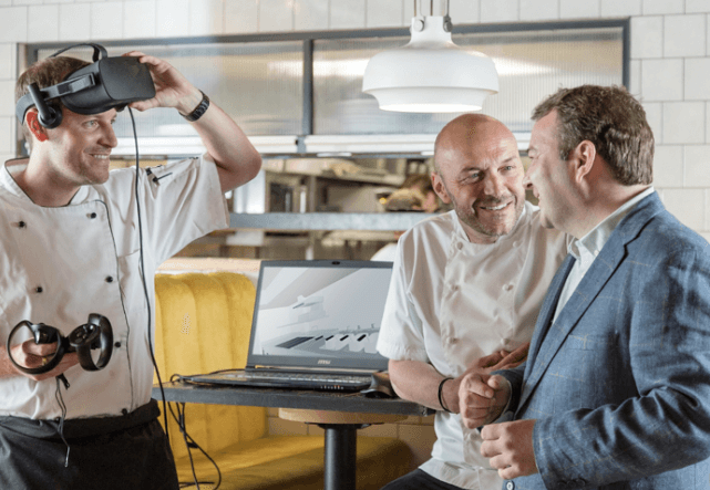 Lloyd Catering Equipment virtual reality system to transform commercial kitchens