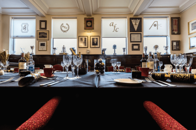 Sodexo Prestige launches fine dining experience at Aberdeen FC stadium