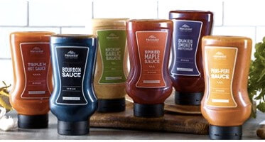 Harvester puts its famous sauces on sale