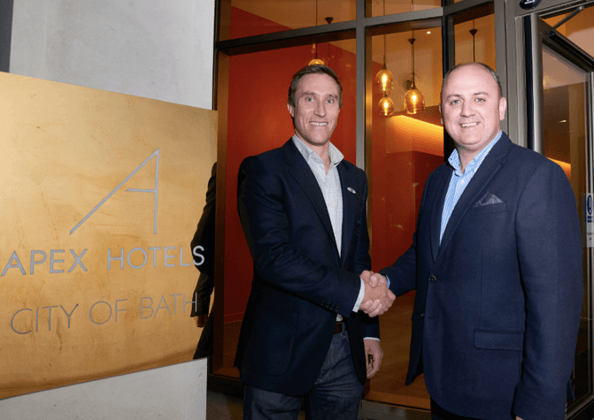 Apex City Of Bath Hotel scores with Bath Rugby partnership