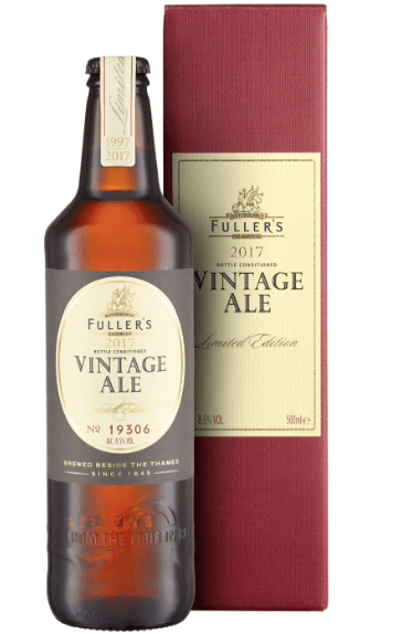 Fuller's launches Vintage Ale 2017