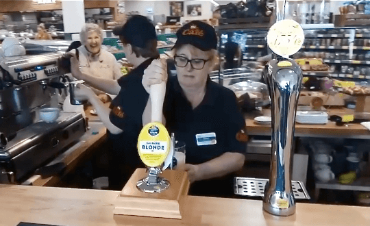 Morrisons launches first UK in-store bar