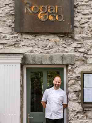 School chef cooks in Rogan & Co restaurant as part of LACA programme