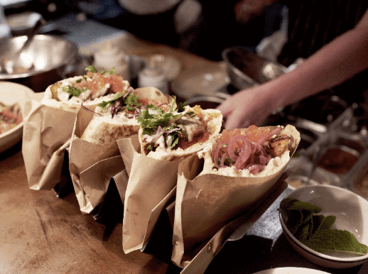 Guest chef collab at Berber & Q Shawarma Bar to celebrate pitas