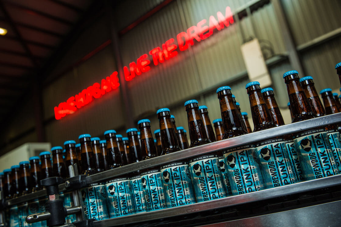 BrewDog recognised as one of fastest growing private UK firms