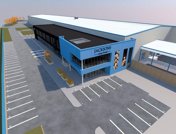 Jacksons Bakery to build £40m bread factory