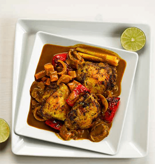 Sri Lankan Yellow Chicken