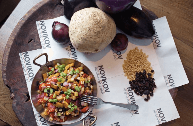 Novikov to put on veggie masterclass