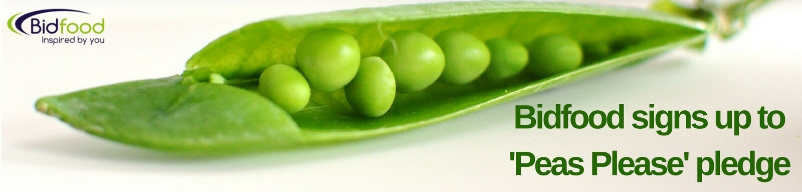 Bidfood signs up to 'Peas Please' pledge