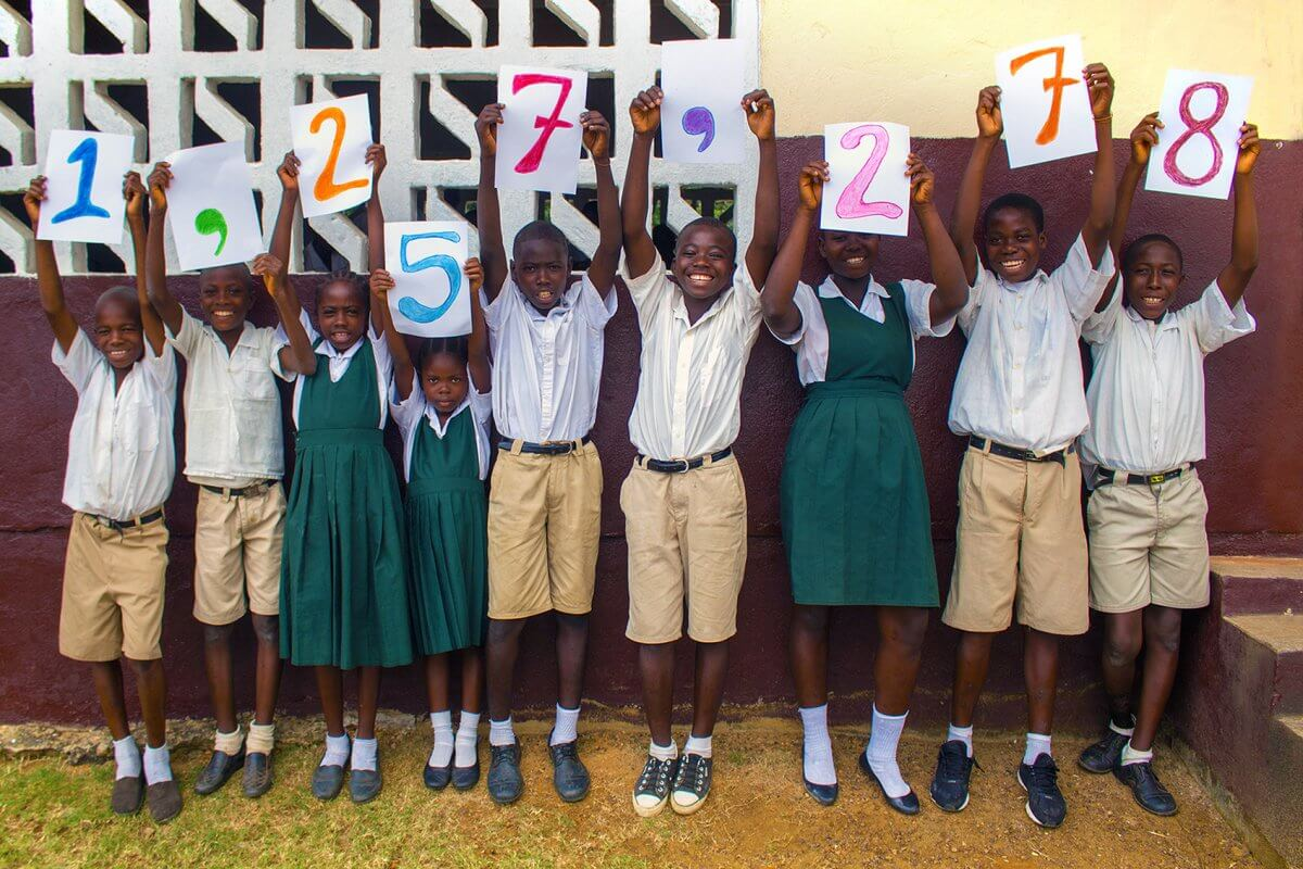 Mary's Meals is now feeding 1,257,278 hungry children every school day