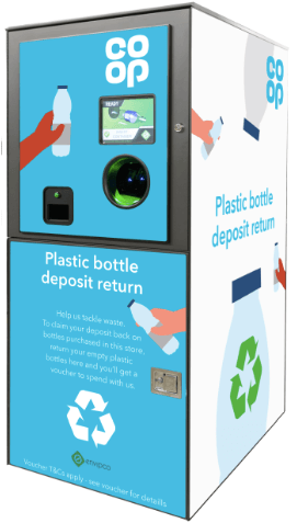 Co-op launches reverse vending machines at UK summer festivals