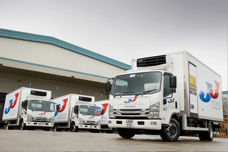 JJ Foodservice reduces environmental footprint with Telematics