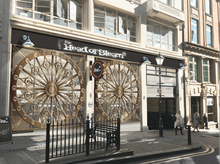 Opening date revealed for Head of Steam Birmingham
